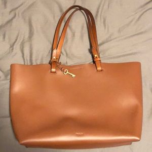 Fossil Tote Rachel Leather